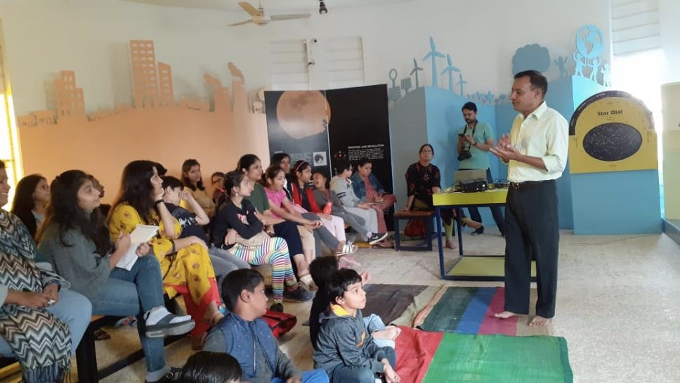 Organic Farming Workshop for Students & Parents at Khoj (Manthan), Ahmedabad