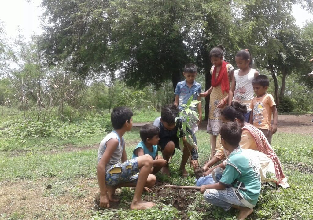 Monika Gamit Tree Plantation